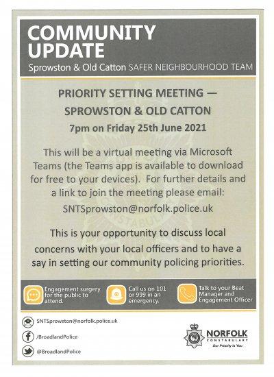 Safer Neighbourhood Team - Community Update
