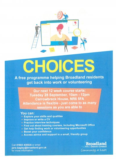 Choices Programme