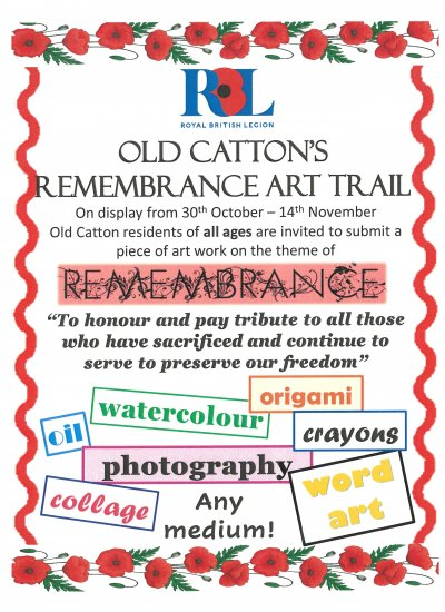Old Catton's Remembrance Art Trail