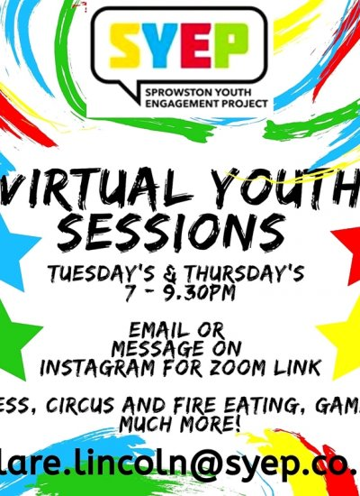 Virtual Youth Group Sessions - SYEP and Old Catton Youth Group