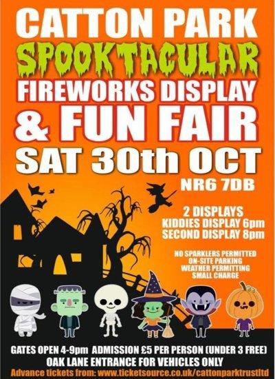 Catton Park Spooktacular - 30th October 2021